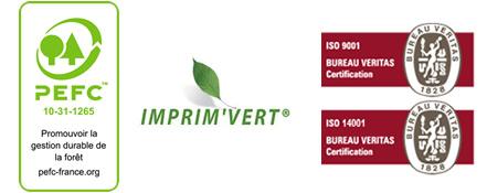 imprimerie-joubert devis en ligne - logos certifications